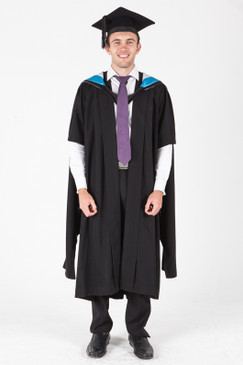 University of Sydney Masters Graduation Gown Set - Nursing - Front view
