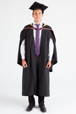 UNE Bachelor Graduation Gown Set - Social Science, Psychology and Criminology - Front view