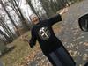 Exorcism Prayers St. Benedict  Designer T-shirt, 2-sided medal