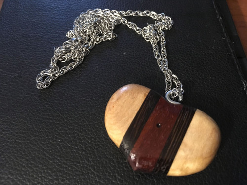 Benedictine Trinity Heart Necklace