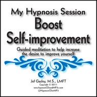 Boost Self-improvement Hypnosis CD