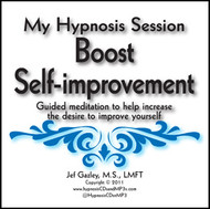 Boost Self-improvement Hypnosis CD