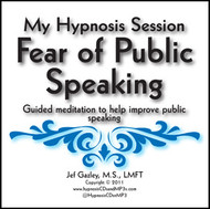 Public Speaking Hypnosis CD