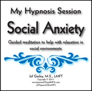 Social Anxiety Hypnosis CD