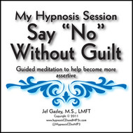 "Saying ""No"" Without Guilt Hypnosis MP3"