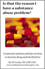 Is that the reason I have a substance abuse problem? (Book)