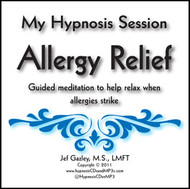 Allergy Relief Hypnosis CD