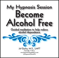 Become Alcohol Free Hypnosis CD