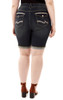 Plus Size Signature Embellished Bermuda In Aire