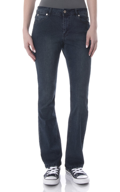 Classic Bootcut Jeans In Anna