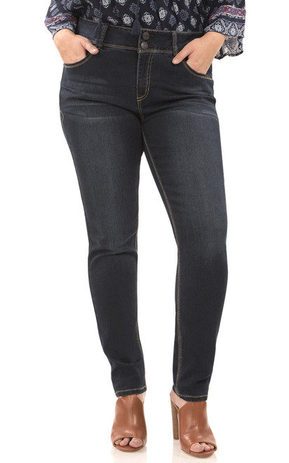 Plus Size Curvy Skinny Jeans In Victoria