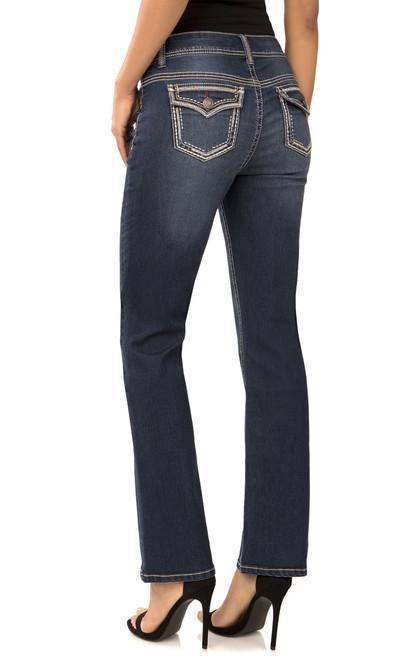 Classic Curvy Bootcut Jeans In Mari