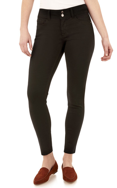 Curvy Skinny Jeans In Onyx