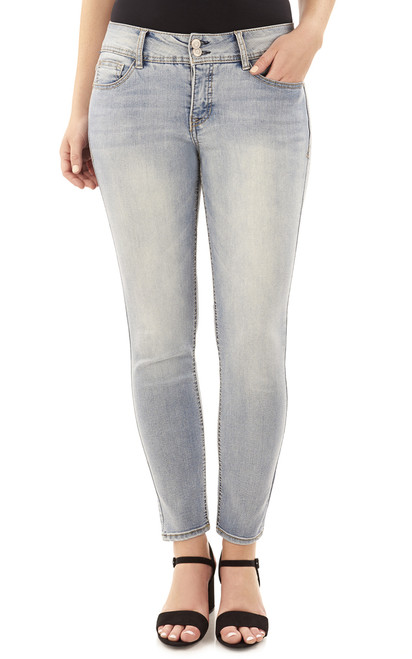 Curvy Skinny Jeans In Atlantic