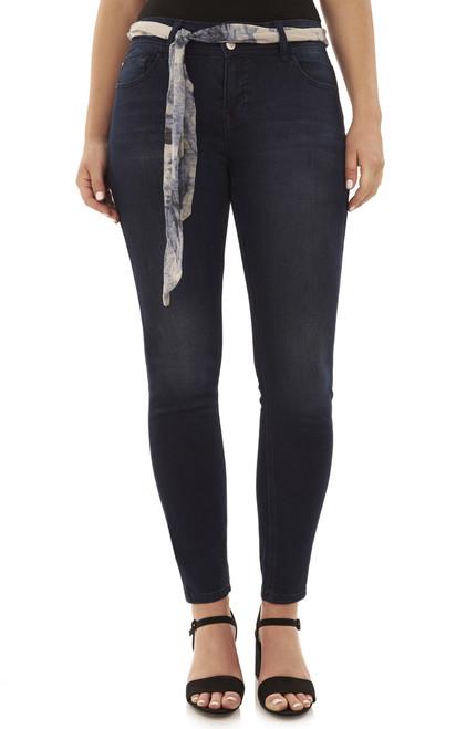 Basic Curvy Skinny Jeans In Royal