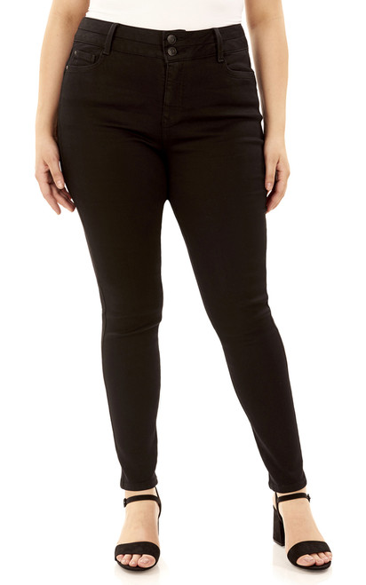 Plus Size Body Lift Skinny Jeans In Logan