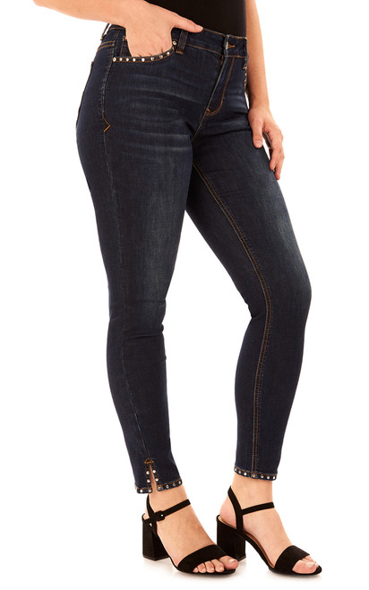 Uptown High-Rise Ankle Skinny Jeans In Cypress