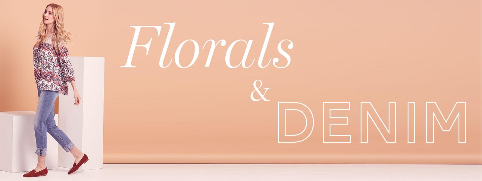 Floral & Denims