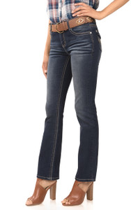 Classic Bootcut Jeans In Emily