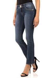Curvy Bootcut Jeans In Mia