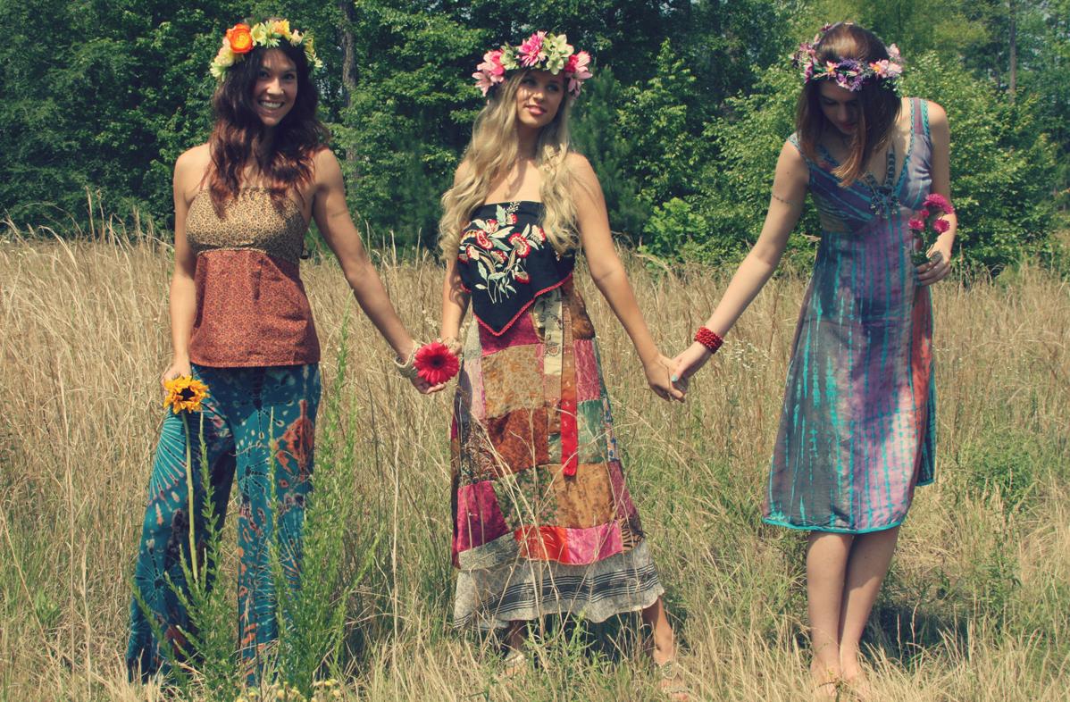 Boho style clothes