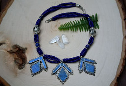 Sea to Sky Lapis Necklace