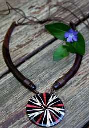 Peaceful Journey Wooden Choker