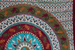 Lizard Love Fair Trade Mandala Tapestry