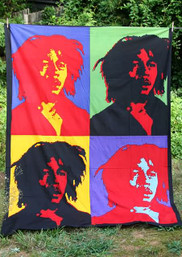 Marley Pop Art Tapestry