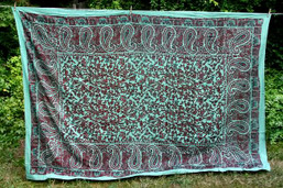 Paisley Dream Tapestry - Fern