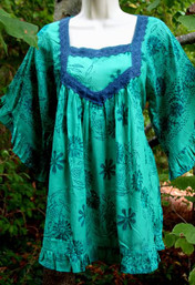 Fresh Rain Fair Trade Bohemian Blouse