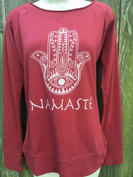 Good Vibes Namaste Organic Cotton Top