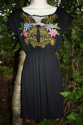 Vintage Romance Cap Sleeve Dress