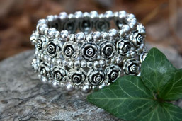 Rose Garden Stretch Bracelet