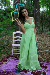 Baja Breeze Mexican Maxi Dress