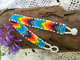 Follow the Rainbow Fair Trade Beaded Bracelet