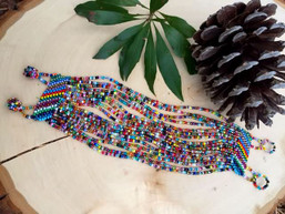 Rainbow Waves Fair Trade Bracelet