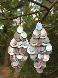 Mermaid Magic Shell Earrings