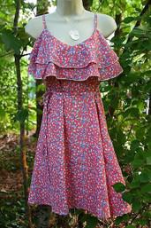 Bluebell Flutter Ruffle Dress