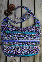 Morning Glory Mist Boho Bag