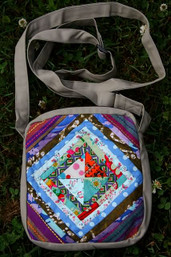 Harmony Fair Trade Patchwork Passport Bag