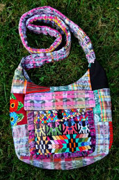 Peaceful Nomad Fair Trade Recycled Patchy Purse