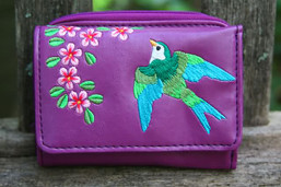 Freedom Flight Vegan Wallet