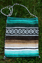 Rio Grande Mexican Blanket Bag