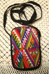 Bohemian Traveler Fair Trade Cell Phone Bag