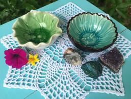 Lotus Pond Ceramic Trinket Dish