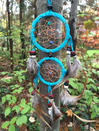 Double Dreams Mini Dreamcatcher