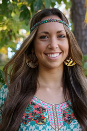Misty Meadow Fair Trade Beaded Headband