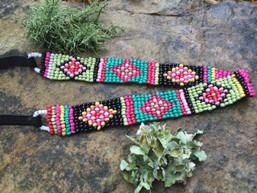 Navajo Summer Beaded Headband