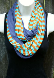 Ripple Double Infinity Scarf - Oasis